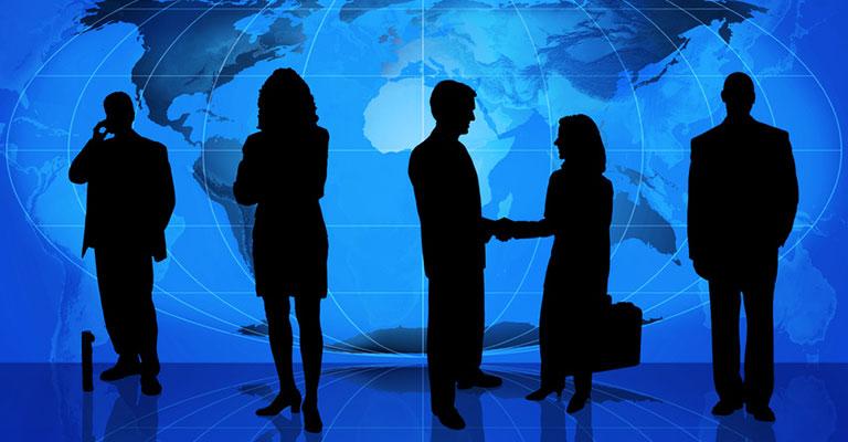 Las dos figuras clave en los negocios internacionales