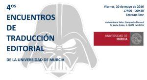 Encuentros de traducción editorial Universidad de Murcia